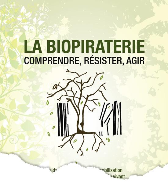 Conception d'une dépliant Biopiraterie