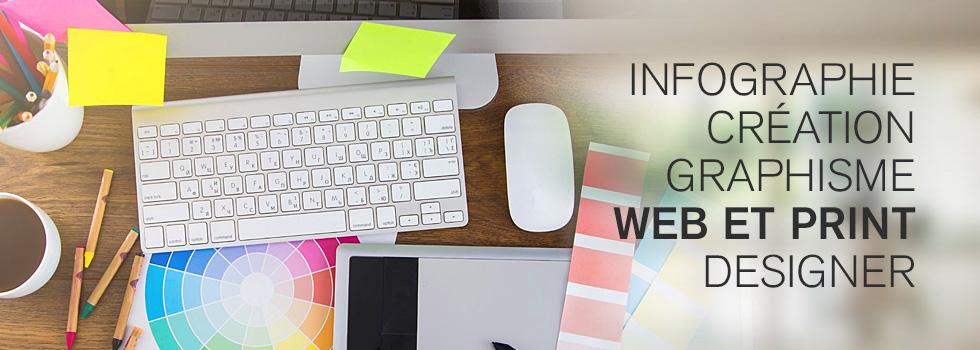 Conception graphique web et print