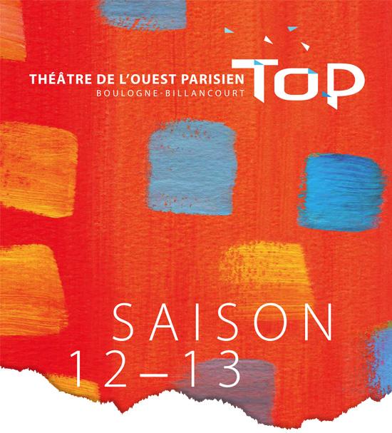 Création couverture programme théâtre