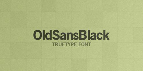 Old-Sans-Black