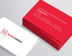 Mockup de Business Card