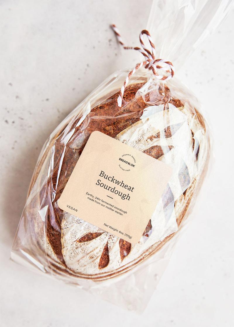 Le pain bien enveloppé