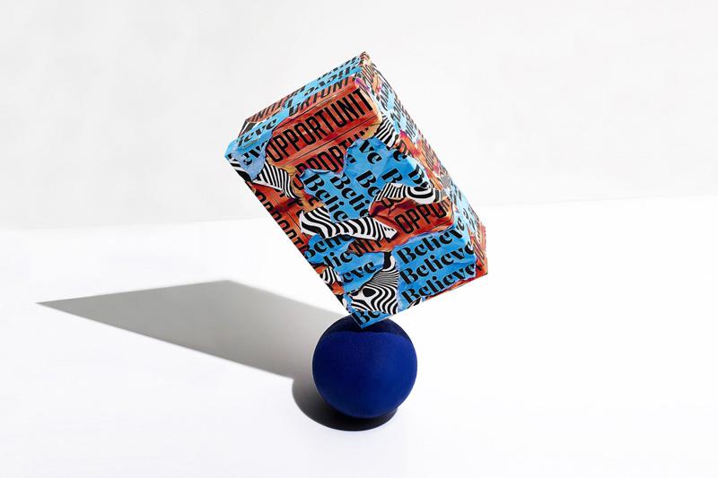 Boîte Typo en 3D