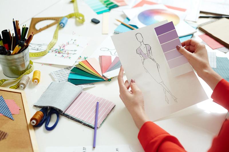 Modèle, dessin, choix des couleurs