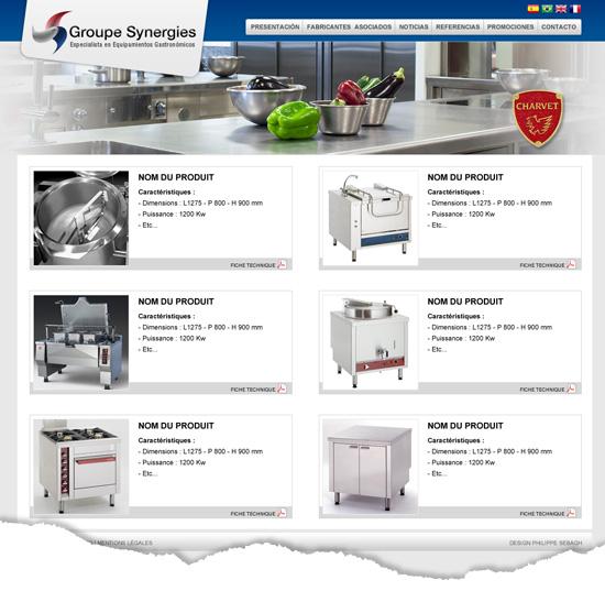 Création design site Internet