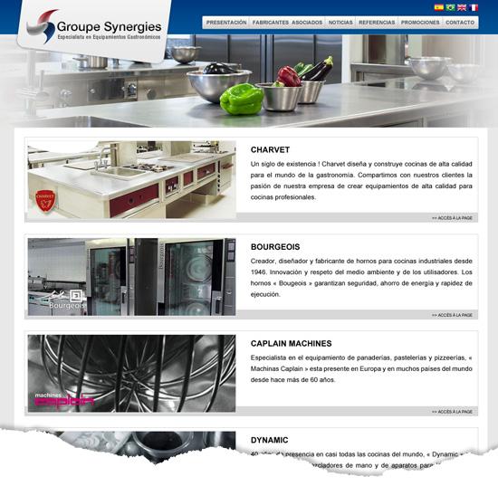 Design site web B to C