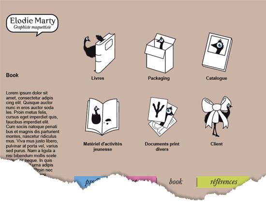 Création pages web site vitrine