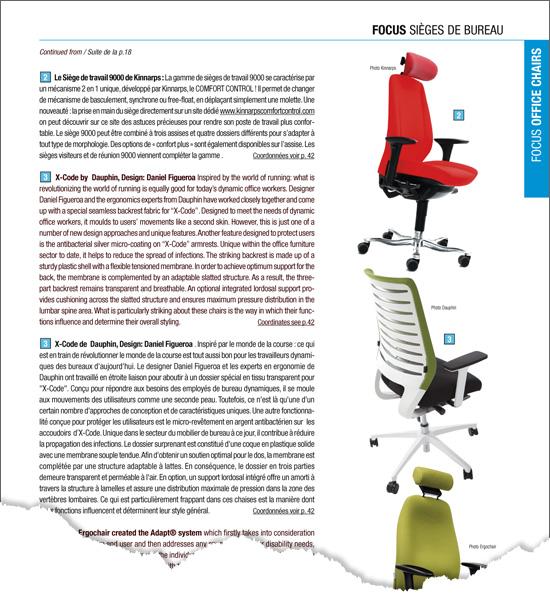 création graphique et organisation des textes