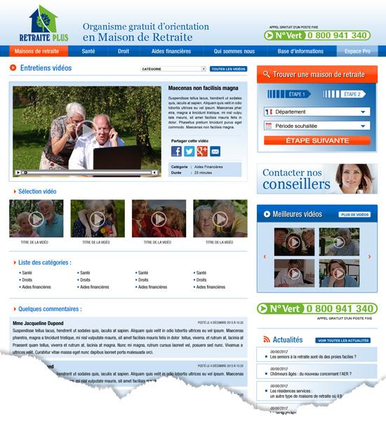 création de page web