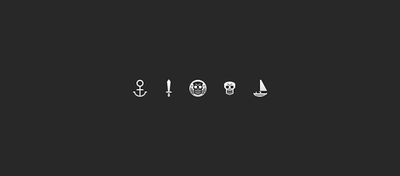 Icônes de Pirate