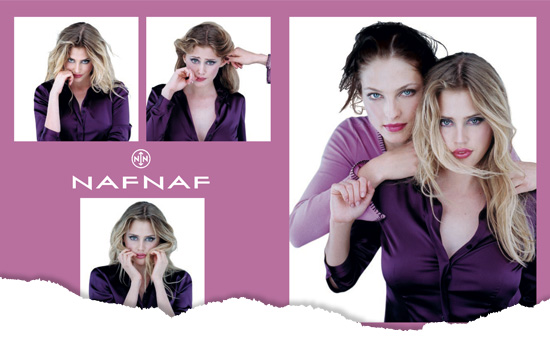 Campagne pub Naf Naf