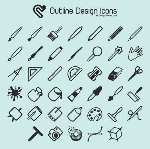2.free-outline-icons