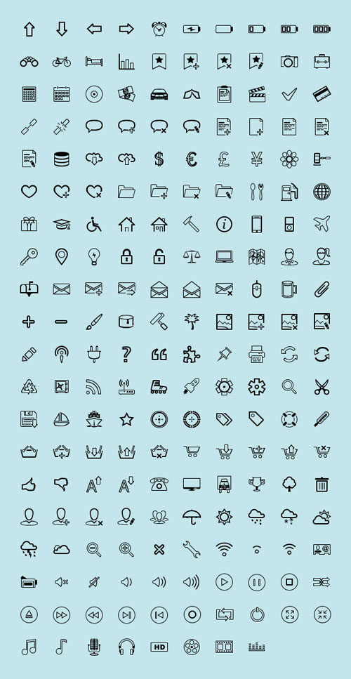 8.free-outline-icons