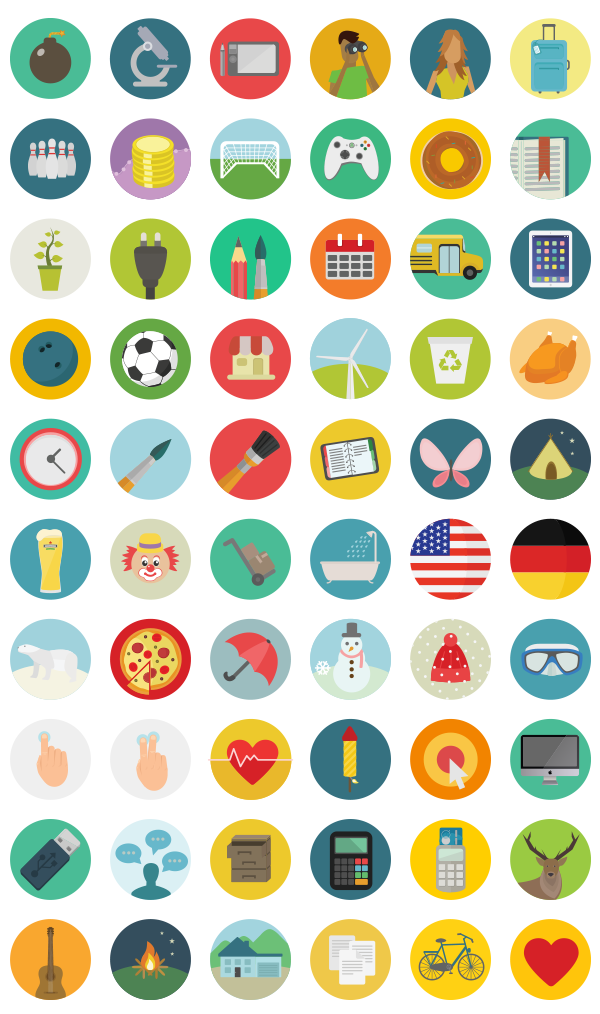 free-round-icons-set-preview