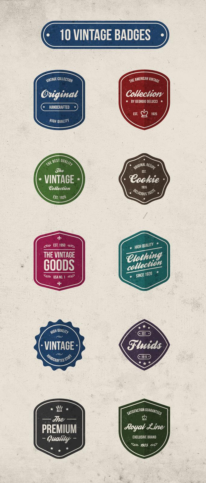 10-badges-retro