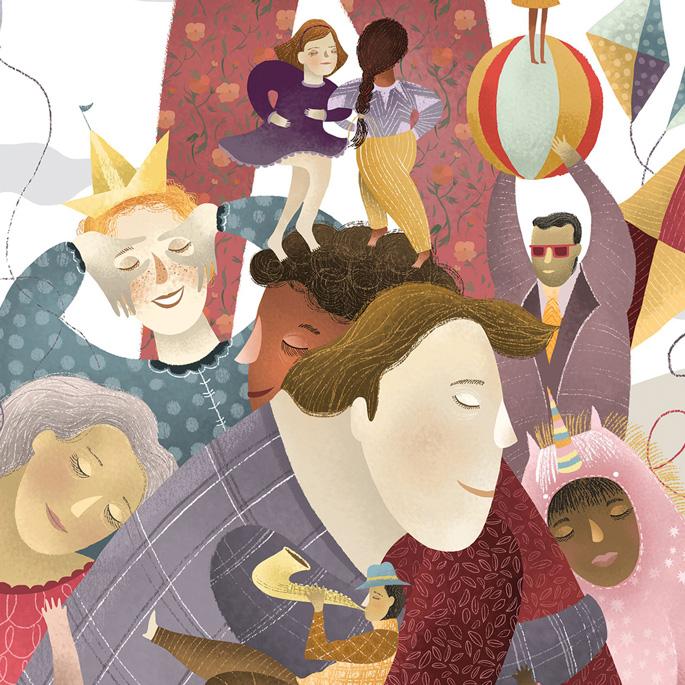 Affiche de diversité par Amalia Restrepo est lauréate dans la catégorie Conception graphique et communication visuelle, 2018-2019