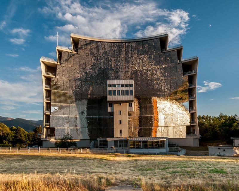 Four solaire Odeillo;  Centre National de la Recherche Scientifique, France © Alastair Philip Wiper