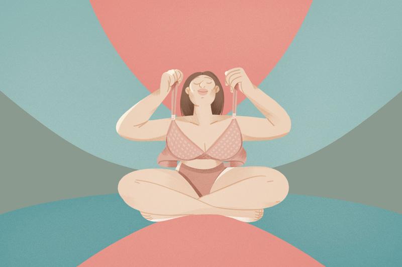 Illustrations d'Eugenia Mello pour NUDEA